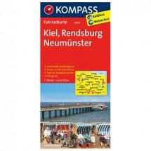 Kompass - Kiel - Radkarte