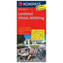 Kompass - Landshut - Pyöräilykartat