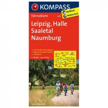 Kompass - Leipzig - Halle - Saaletal - Naumburg - Radkarte