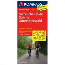 Kompass - Märkische Heide - Radkarte