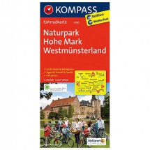 Kompass - Naturpark Hohe Mark - Radkarte