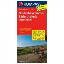 Kompass - Niederbayerisches Bäderdreieck - Pyöräilykartat