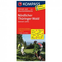 Kompass - Nördlicher Thüringer Wald - Radkarte