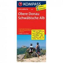 Kompass - Obere Donau - Cartes de randonnée à vélo