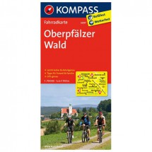 Kompass - Oberpfälzer Wald - Cartes de randonnée à vélo