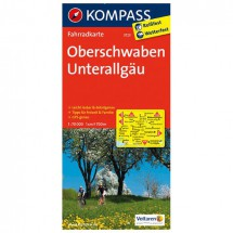 Kompass - Oberschwaben - Pyöräilykartat