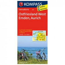 Kompass - Ostfriesland West - Cycling maps