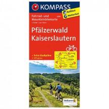 Kompass - Pfälzerwald - Cartes de randonnée à vélo