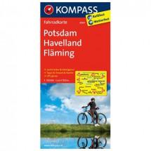 Kompass - Potsdam - Pyöräilykartat