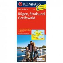 Kompass - Rügen - Pyöräilykartat