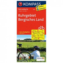 Kompass - Ruhrgebiet - Cartes de randonnée à vélo