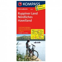 Kompass - Ruppiner Land - Cartes de randonnée à vélo