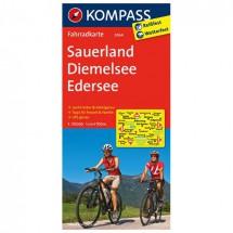 Kompass - Sauerland - Diemelsee - Edersee - Radkarte
