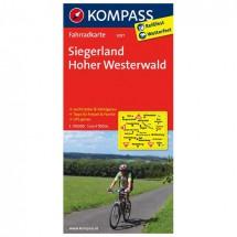 Kompass - Siegerland - Pyöräilykartat