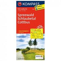 Kompass - Spreewald - Cycling maps