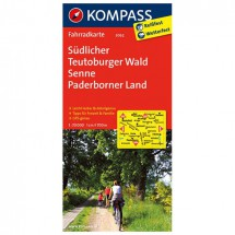 Kompass - Südlicher Teutoburger Wald - Cycling maps