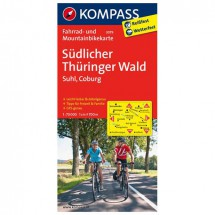 Kompass - Südlicher Thüringer Wald - Radkarte
