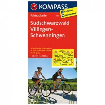 Kompass - Südschwarzwald - Cartes de randonnée à vélo