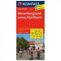 Kompass - Weserbergland - Fietskaarten