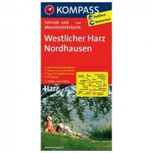 Kompass - Westlicher Harz - Radkarte
