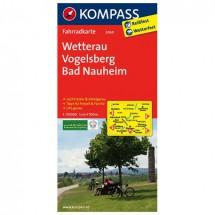 Kompass - Wetterau - Pyöräilykartat