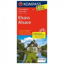 Kompass - Elsass - Radkarte