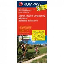 Kompass - Meran - Radkarte