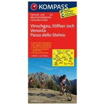 Kompass - Vinschgau - Cycling maps