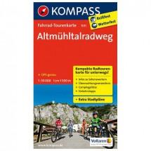 Kompass - Altmühltalradweg - Pyöräilykartat