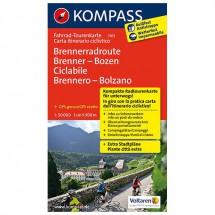 Kompass - Brennerradroute Brenner - Pyöräilykartat