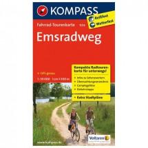 Kompass - Emsradweg - Fietskaarten