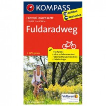 Kompass - Fuldaradweg - Cycling maps