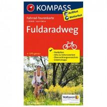 Kompass - Fuldaradweg - Radkarte