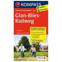 Kompass - Glan-Blies-Radweg - Radkarte