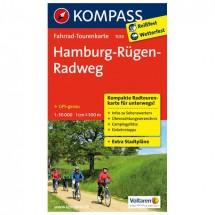 Kompass - Hamburg-Rügen-Radweg - Pyöräilykartat