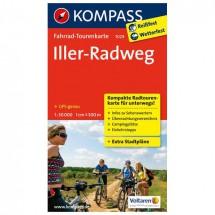 Kompass - Iller-Radweg - Radkarte