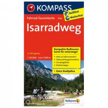 Kompass - Isarradweg - Cycling maps