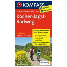 Kompass - Kocher-Jagst-Radweg - Cartes de randonnée à vélo