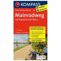 Kompass - Mainradweg, Von Bayreuth nach Mainz - Cycling maps