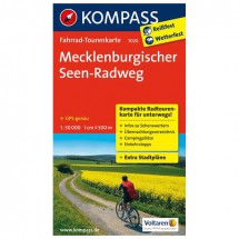 Kompass - Mecklenburgischer Seen-Radweg - Cycling maps