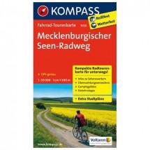 Kompass - Mecklenburgischer Seen-Radweg - Radkarte