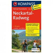 Kompass - Neckartal-Radweg - Pyöräilykartat
