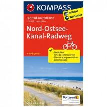 Kompass - Nord-Ostsee-Kanal-Radweg - Cycling maps