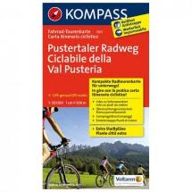 Kompass - Pustertaler Radweg - Cartes de randonnée à vélo