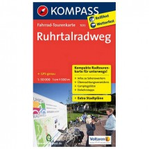 Kompass - Ruhrtalradweg - Fietskaarten