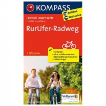 Kompass - RurUfer-Radweg - Fietskaarten