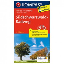 Kompass - Südschwarzwald-Radweg - Cartes de randonnée à vélo