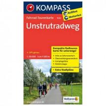 Kompass - Unstrutradweg - Cycling maps