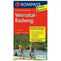 Kompass - Werratal-Radweg - Radkarte