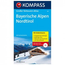 Kompass - Bayerische Alpen - Skitourenführer